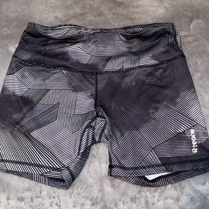 Reebok shorts with lines